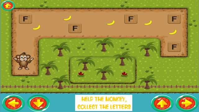 Monkey ABC - Learn the ABC Fun Educational Game for Preschool Toddlers and Kids screenshot 2