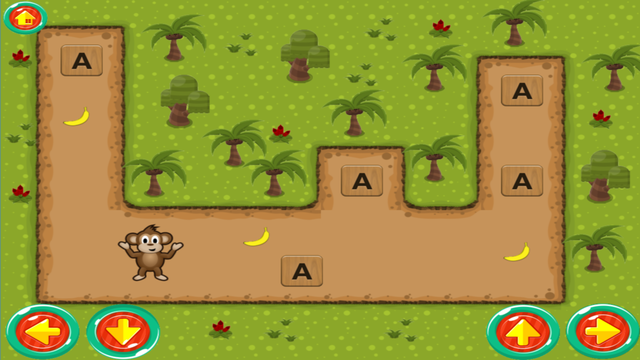 Monkey ABC - Learn the ABC Fun Educational Game for Preschool Toddlers and Kids screenshot 3