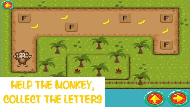 Monkey ABC - Learn the ABC Fun Educational Game for Preschool Toddlers and Kids screenshot 6
