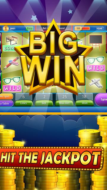 7 Double Casino Slots - Magic Wonderland Of Blackjack Casino And Video Poker Free screenshot 2