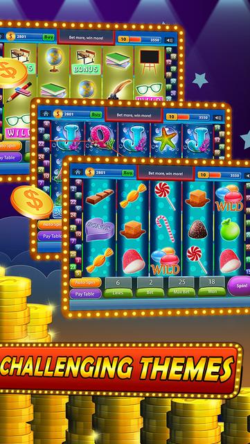 7 Double Casino Slots - Magic Wonderland Of Blackjack Casino And Video Poker Free screenshot 4