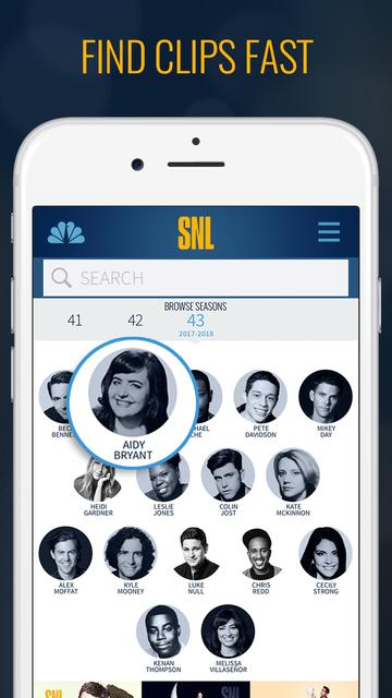 The SNL Official App on NBC screenshot 3
