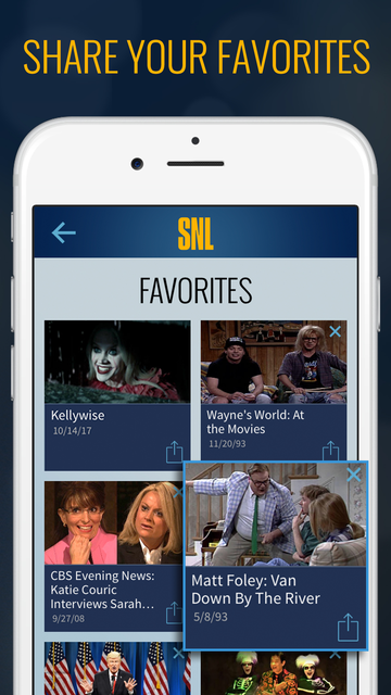 The SNL Official App on NBC screenshot 5