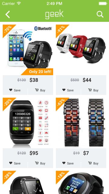 Geek - Smarter Shopping screenshot 6