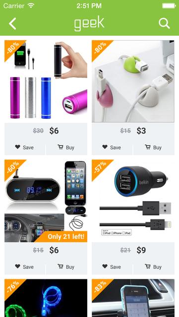 Geek - Smarter Shopping screenshot 9