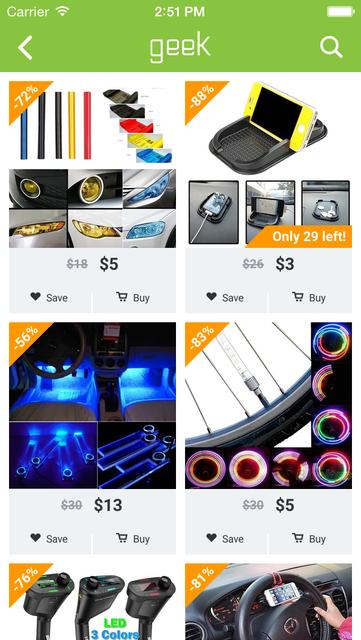 Geek - Smarter Shopping screenshot 10