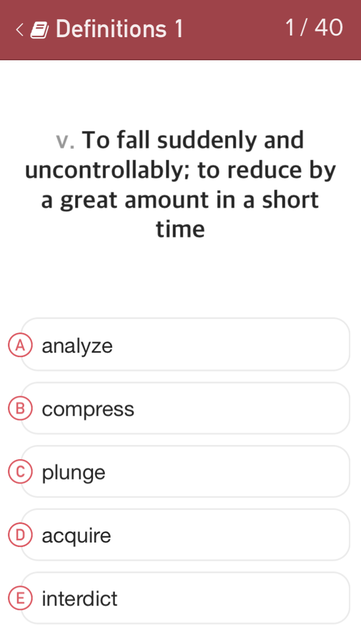 TOEFL Practice: Vocabulary screenshot 2