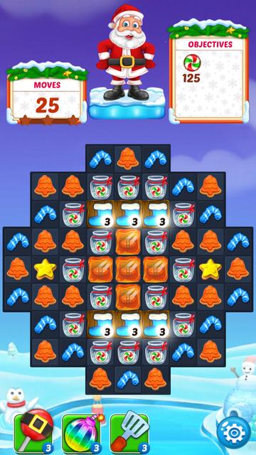 Christmas Cookie - Help Santa screenshot 9