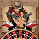 Icon for AAA Wild West Girl Gangstar Slots - WIN BIG with FREE Vegas Casino Game Machine on Christmas!
