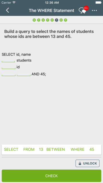 Learn SQL screenshot 4