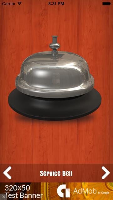 Service Bell Pro screenshot 1