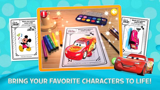 Disney Color and Play screenshot 1