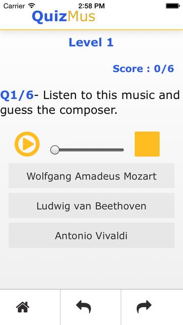 QuizMus Classical Music Quiz screenshot 3
