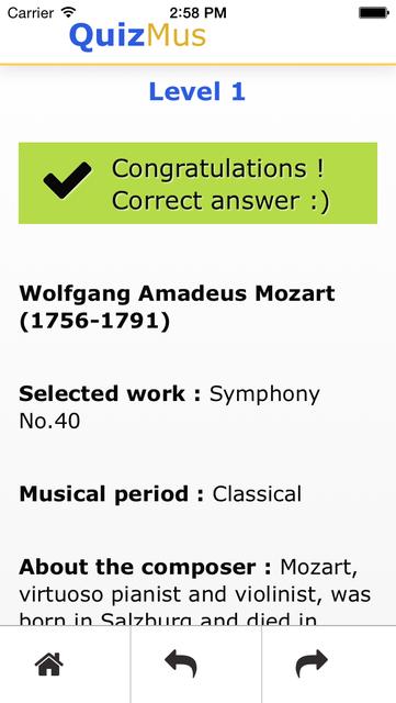 QuizMus Classical Music Quiz screenshot 4