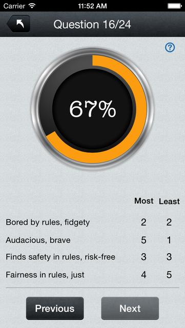 Disc Personality Profile & Traits Assessment Test Pro screenshot 3