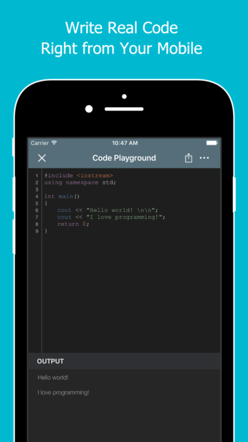 Learn to Code with C++ screenshot 3