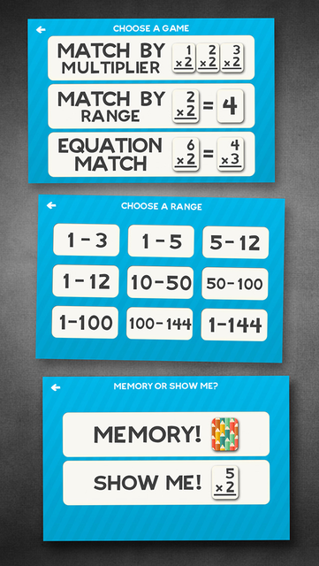 Multiplication Math Flashcards screenshot 4