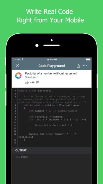 Learn to Code with Java screenshot 2