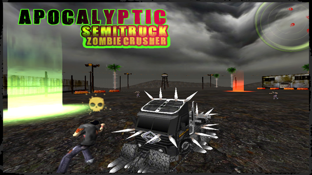 Semi Truck Zombie Crusher screenshot 4