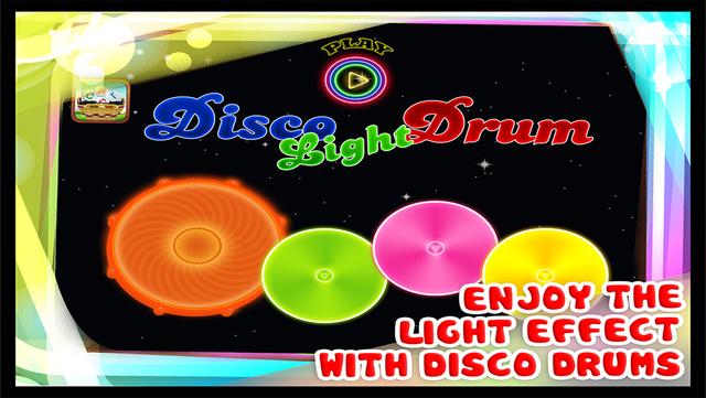 Disco Lights Drums Pro - Finger Drum Kit for Kids screenshot 1