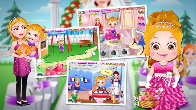 Baby Hazel Flower Girl for Kids screenshot 4