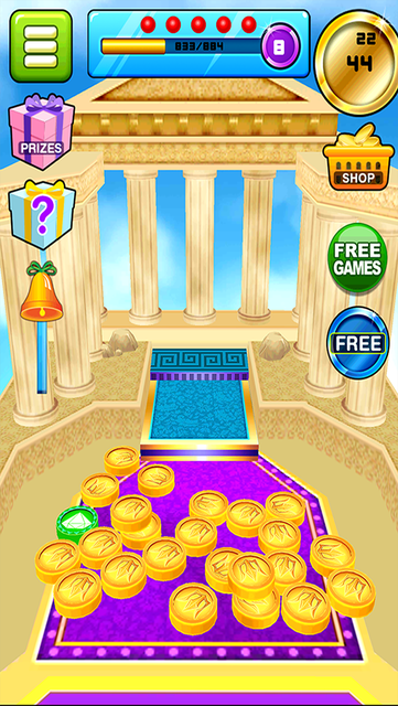Gods of Olympus Coin Dozer screenshot 4