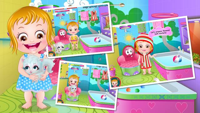 Baby Hazel Spa Bath screenshot 3