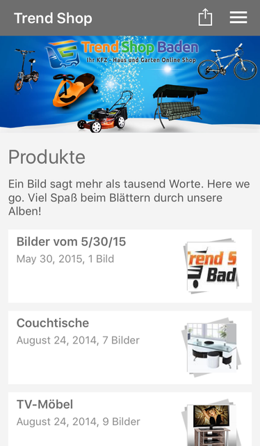 About Trend Shop Baden Ios App Store Version Trend Shop Baden