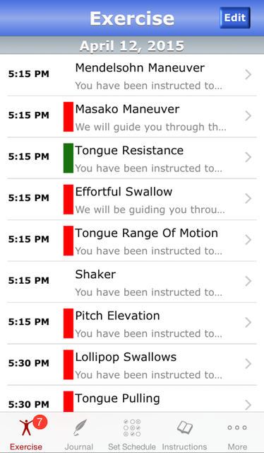 iSwallow screenshot 1