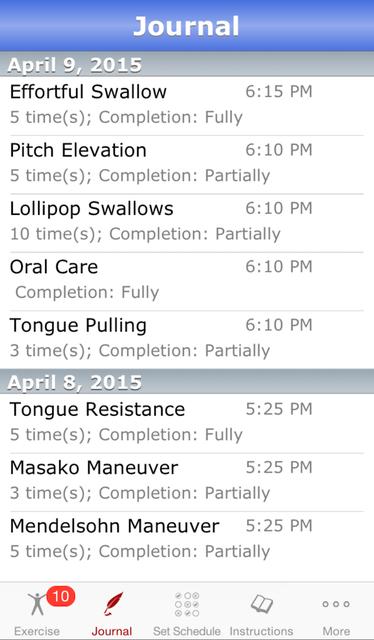 iSwallow screenshot 4