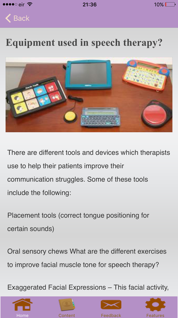 Speech Therapy Exercises screenshot 5