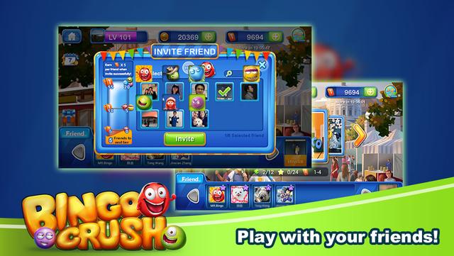 Bingo Crush - Free Bingo Game™ screenshot 4