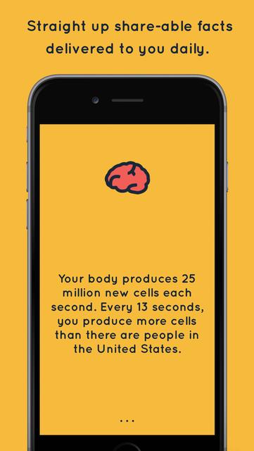 Brain Power - Daily Facts screenshot 2