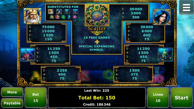 Lord of the Ocean™ Slot screenshot 4