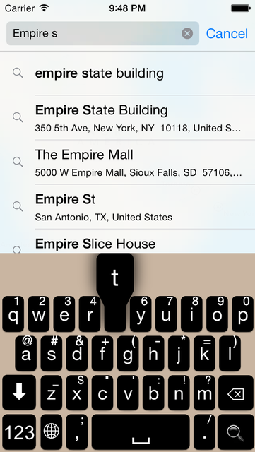 HiKeyboard screenshot 1