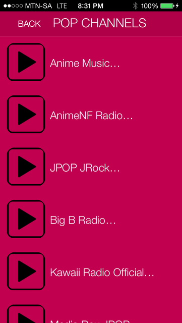 JPOP Music Radio Free screenshot 3