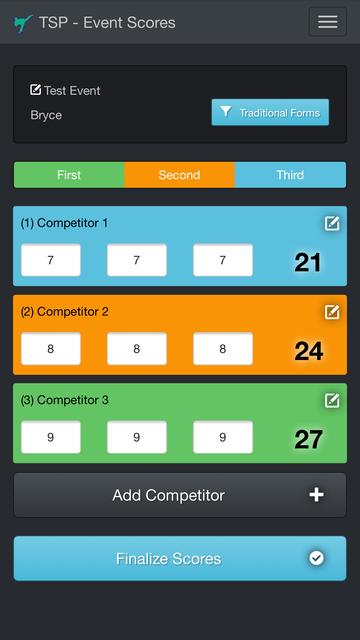 Tournament Scorecard Pro screenshot 3