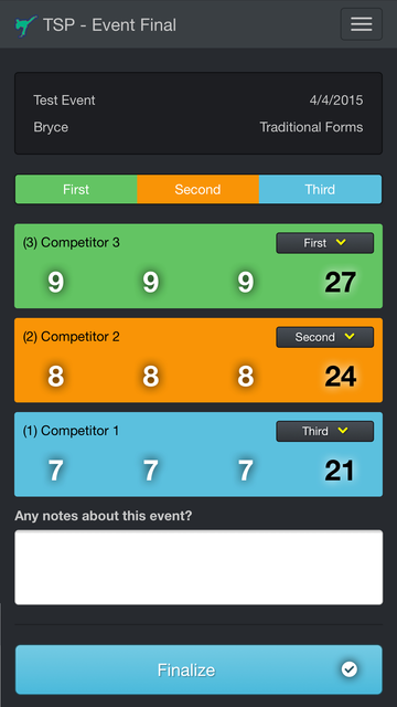 Tournament Scorecard Pro screenshot 4