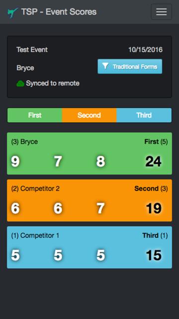 Tournament Scorecard Pro screenshot 5