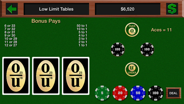 Casino Over Under screenshot 2