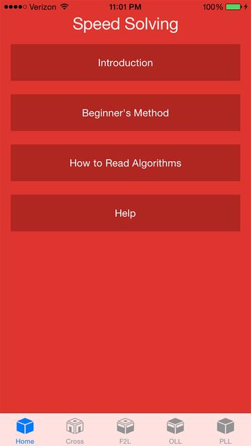 Speed Cube Solving screenshot 1