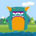 Jumping Monster addictive game