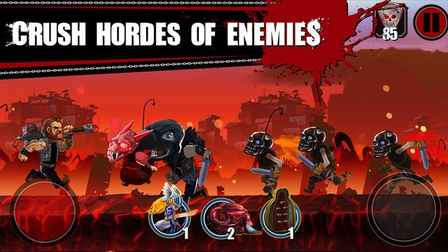 Metal Hammer: Roadkill Game screenshot 2