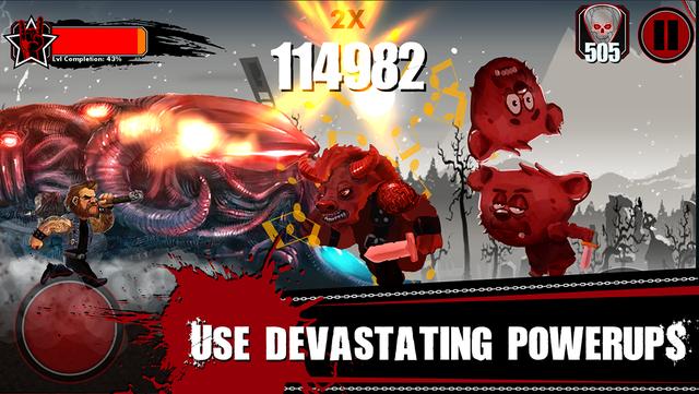 Metal Hammer: Roadkill Game screenshot 3