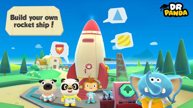 Dr. Panda Space screenshot 1