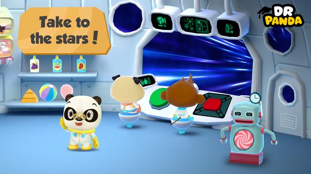 Dr. Panda Space screenshot 2