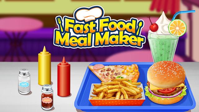 Fast Food Maker - Happy Chef's Meal screenshot 1
