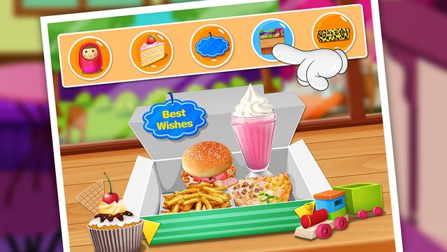 Fast Food Maker - Happy Chef's Meal screenshot 4