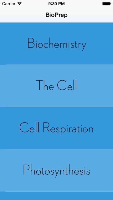 BioPrep - 100% Free AP Biology Prep screenshot 2