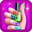 A+ Nail Art Beauty Salon Fashion Makeover Game For Girls